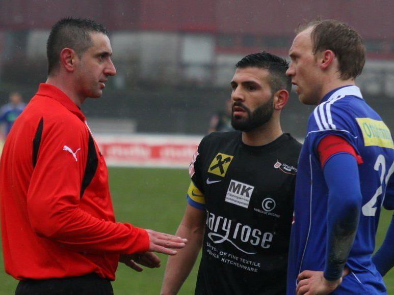 Das Spiel Saalfelden gegen Bregenz wird wiederholt.