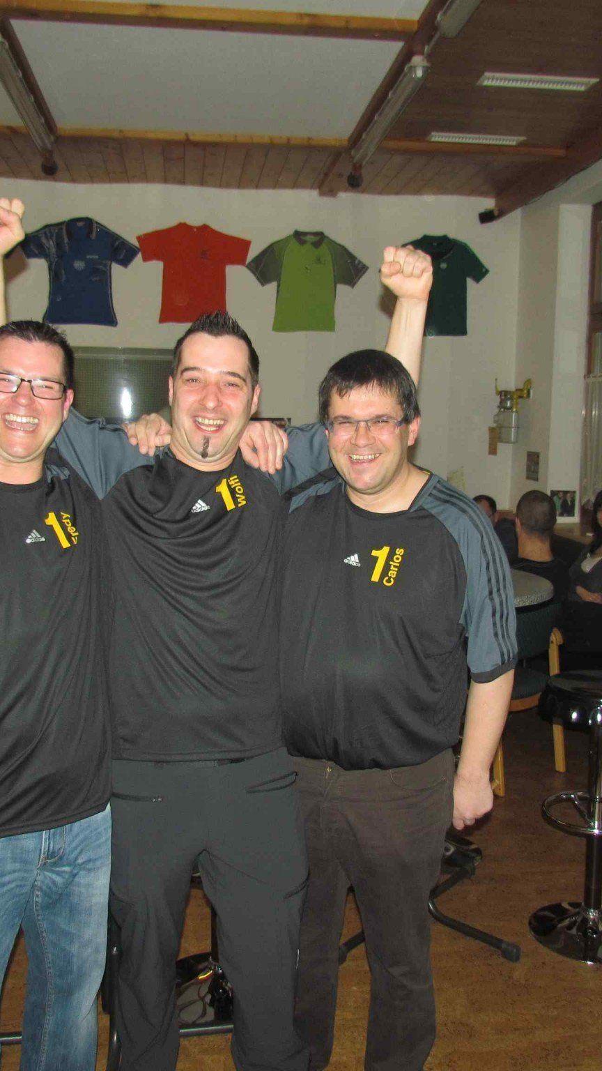 Der UTTC Altach wurde zum ersten Mal Meister in der Tischtennis Landesliga.