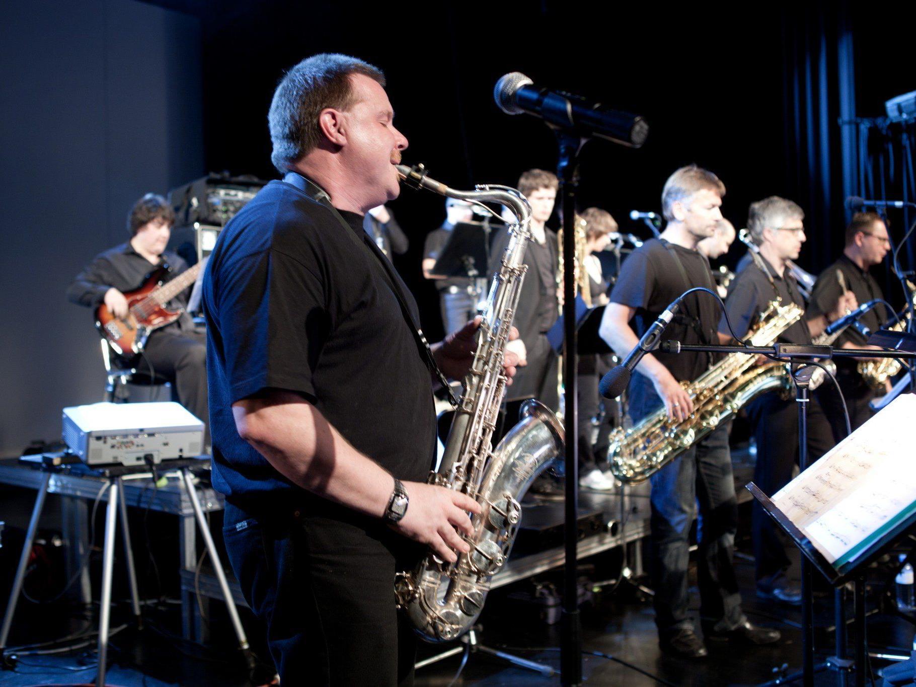Die Swing-Werk Big-Band wird Ende April unter der Leitung von Werner Gorbach zu hören sein