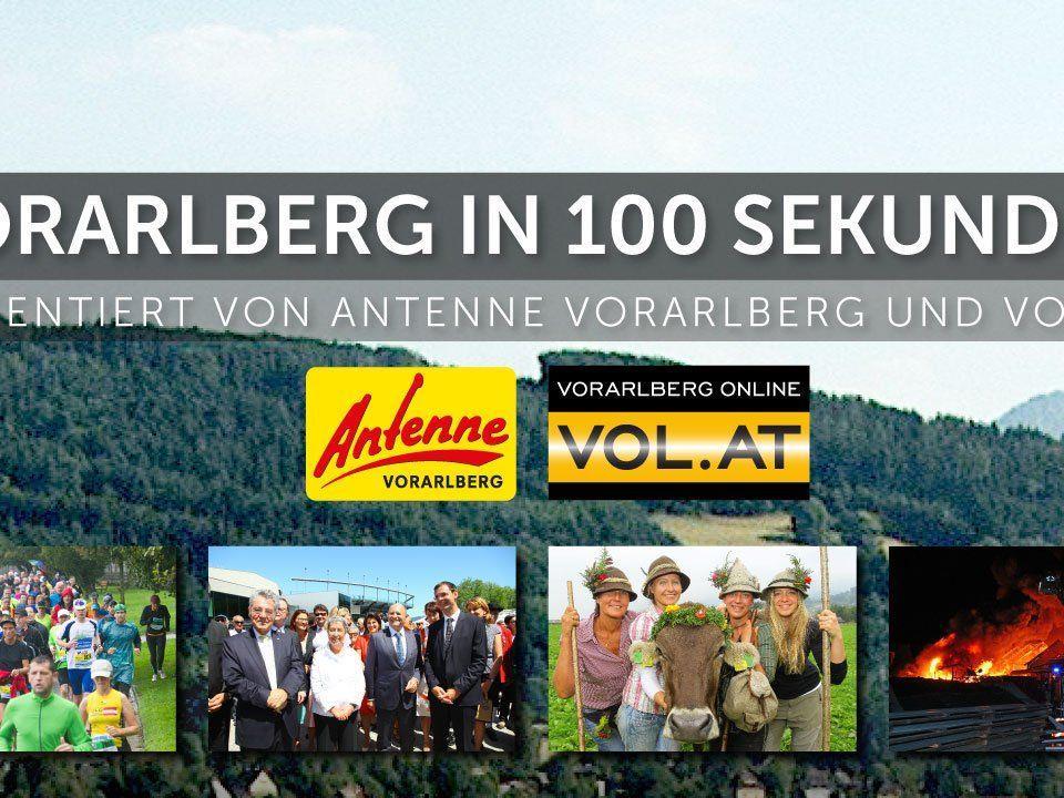 Der kompakte Newsflash für Vorarlberg