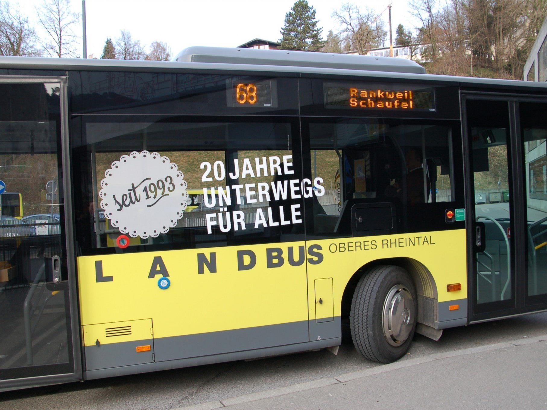 Der Jubiläums-Landbus kommt in die Gemeinden für vor-Ort-Informationen