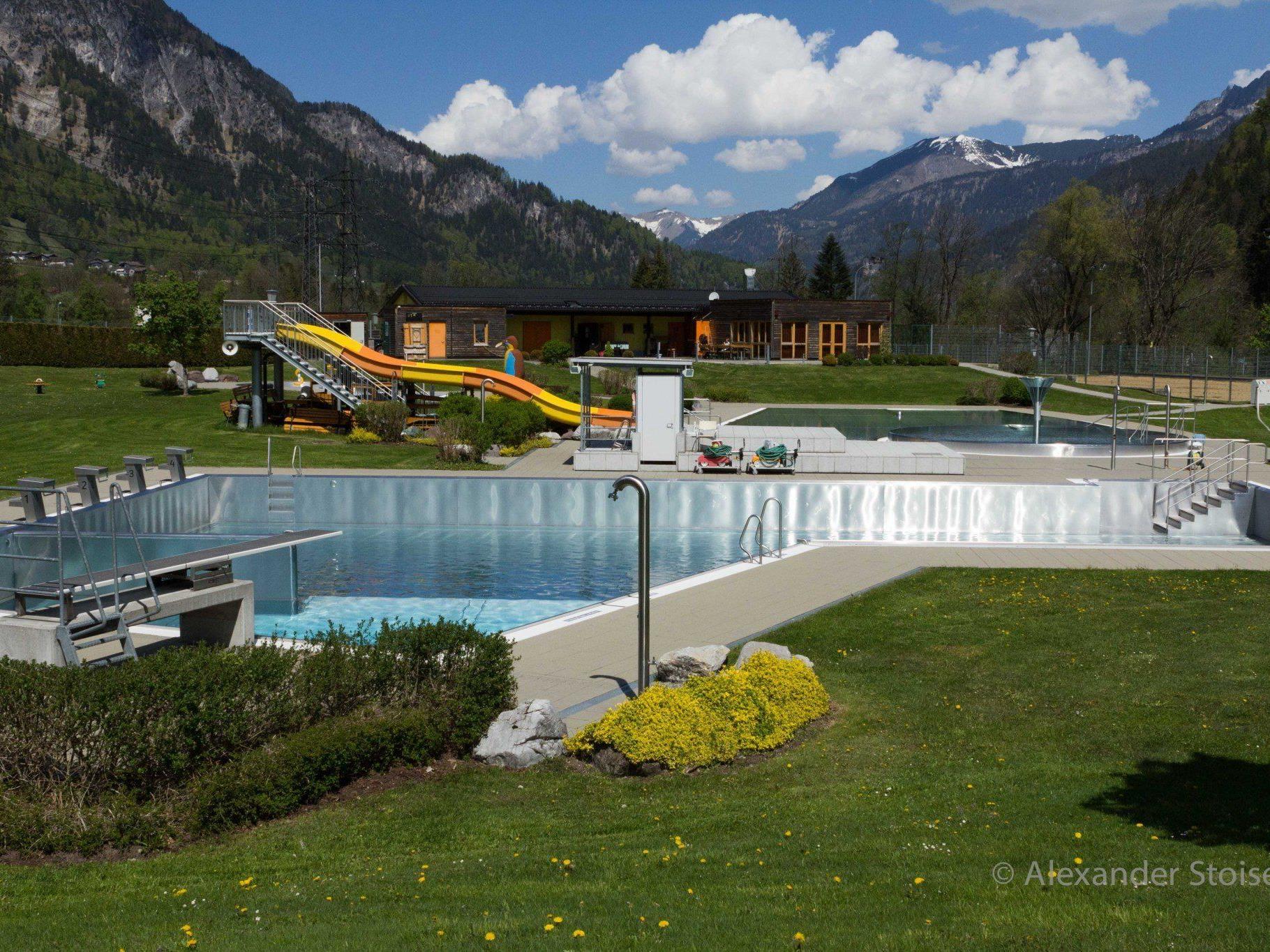 Holen Sie sich jetzt eine vergünstigte Saisonkarte für das Schwimmbad Vandans.