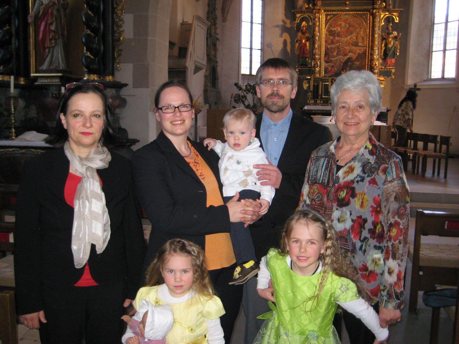 Leo Paul Löschnigg wurde getauft.