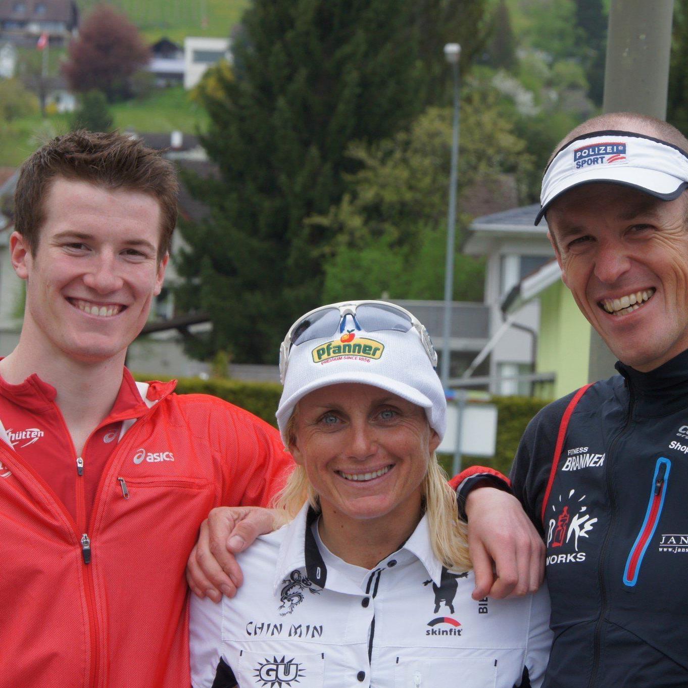 Martin Bader, Yvonne van Vlerken und Mathias Buxhofer sorgten für einen Sieg, und gute Platzierungen.