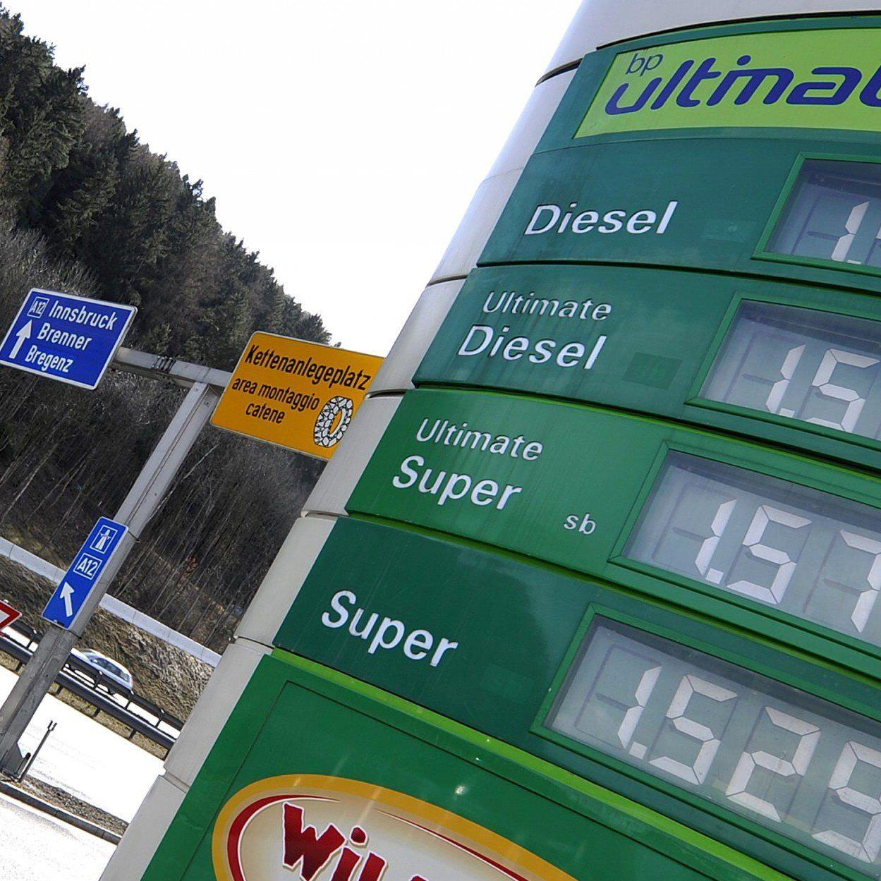 Die AK untersuchte die Spritpreise von Autobahntankstellen über die Osterfeiertage.