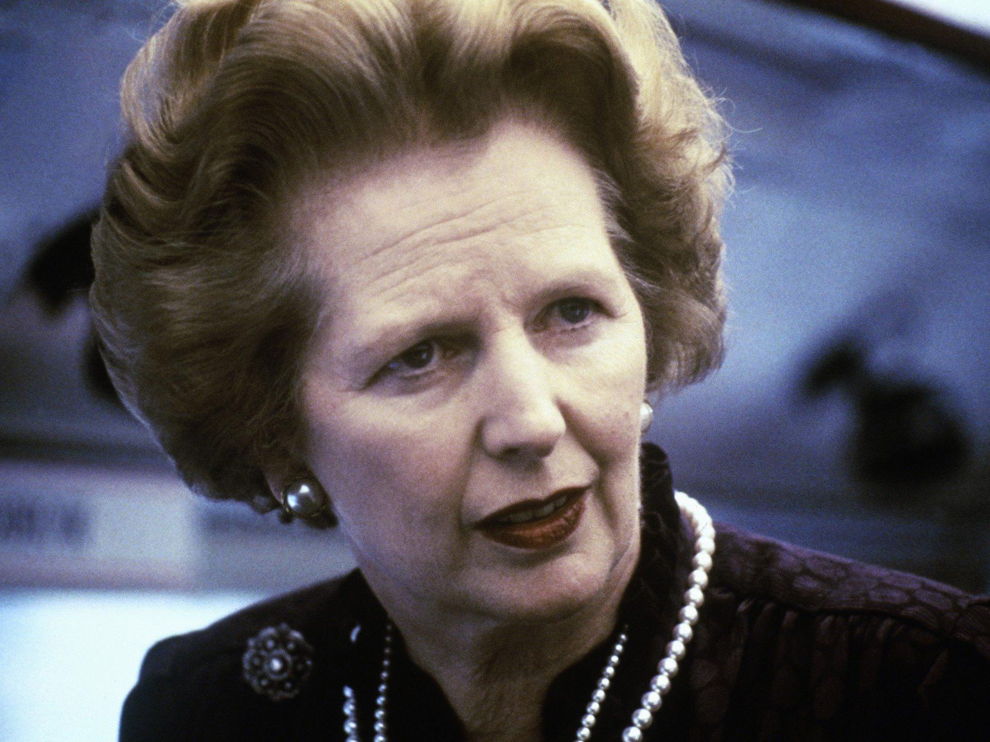 Margaret Thatcher starb im Alter von 87 Jahren.