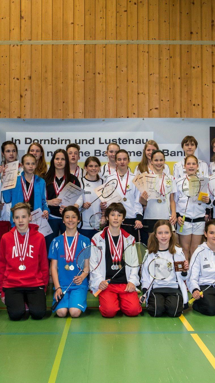 Alle Medaillengewinner bei den NW-Titelkämpfen in Dornbirn.