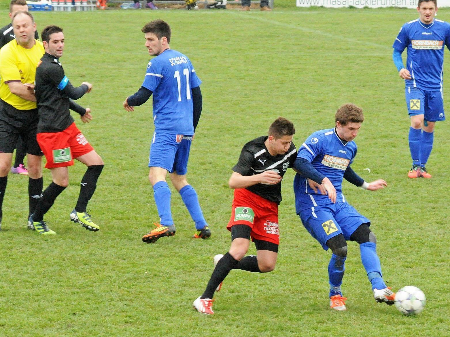 Der FC Viktoria Bregenz hatte der Heimmannschaft wenig entgegenzusetzen.