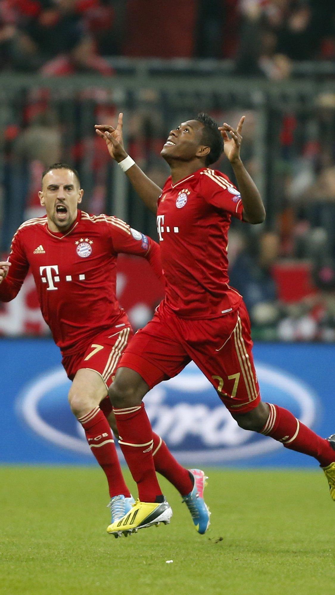 Alaba traf bei Bayerns 2:0-Heimsieg gegen Juventus.