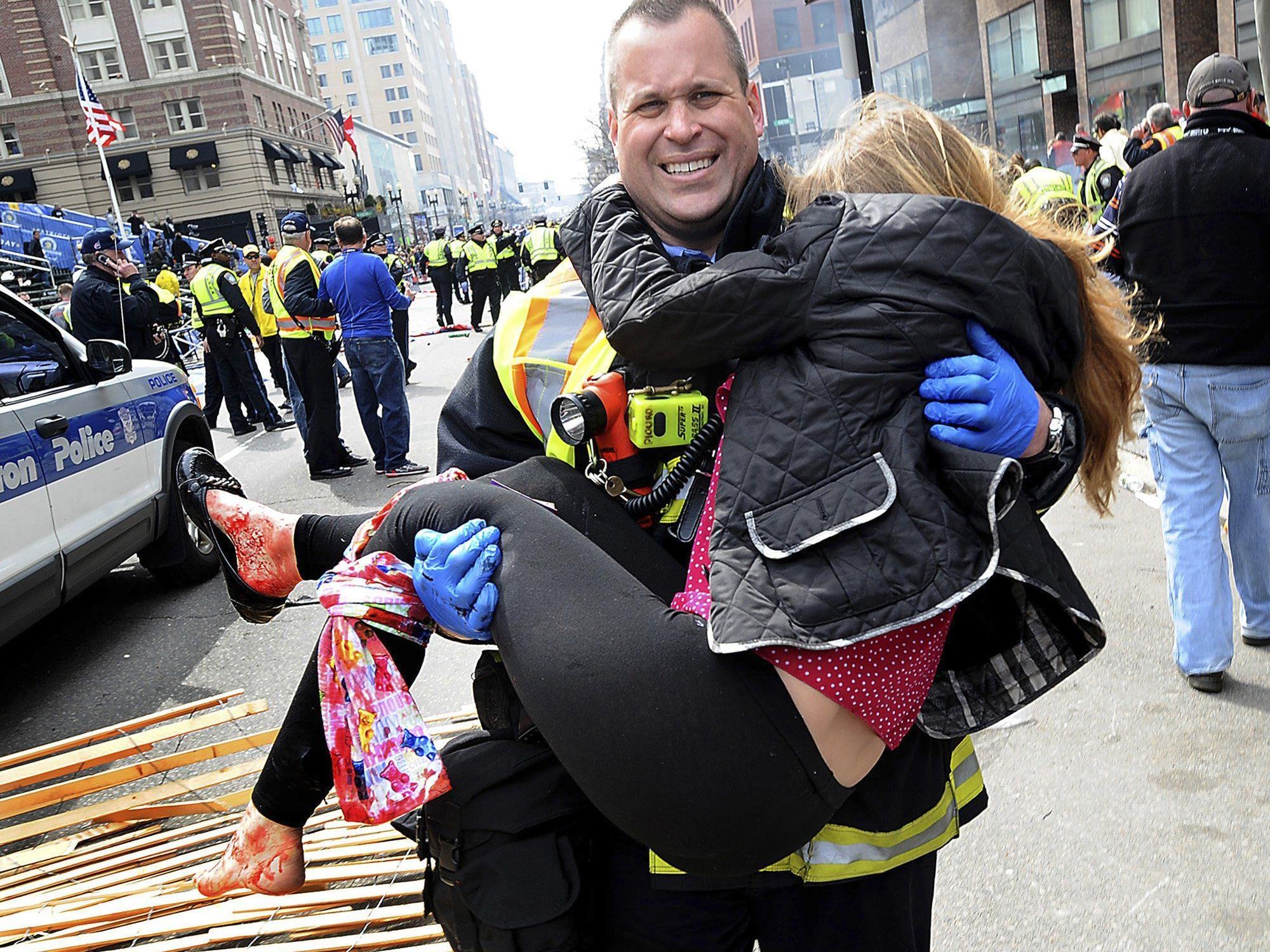 Bei dem Anschlag während des Boston-Marathons waren am Montag drei Menschen getötet und mehr als 180 verletzt worden.