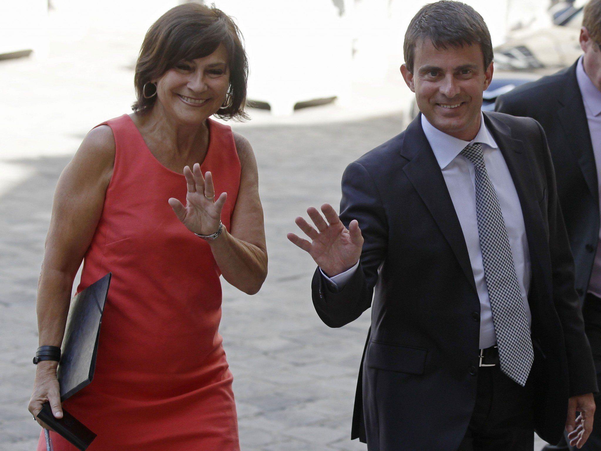 Marie-Arlette Carlotti, Ministerin für Behinderte, legte ihr Vermögen als eine der ersten offen.