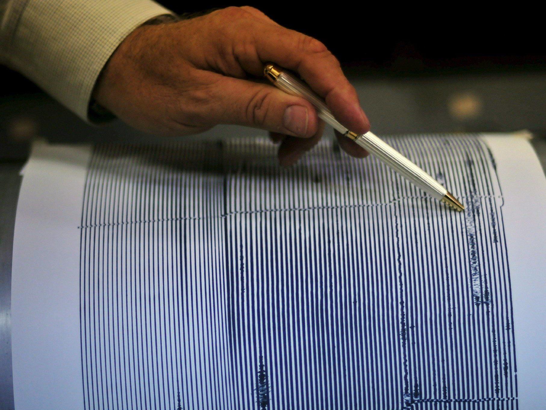 Erdbeben der Stärke 2,4 in Damüls registriert.