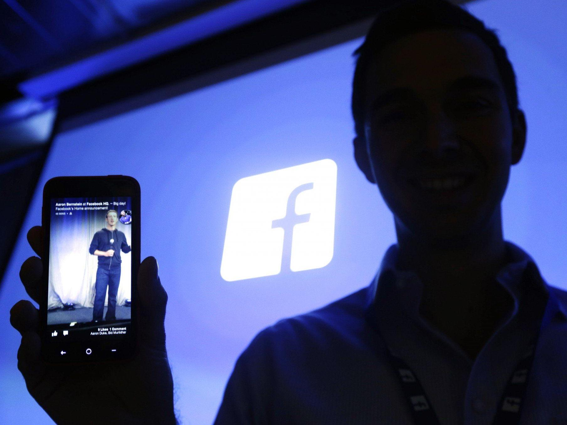 Mark Zuckerbergs nächster Streich? Präsentation der Facebook-Android-Pläne.