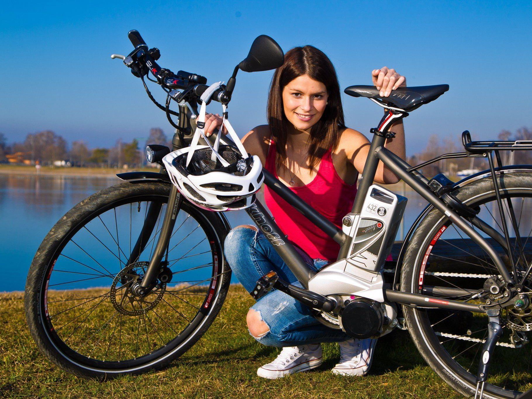 """E-Bikes erfreuen sich steigender Beliebtheit - und erhöhen die Pendler-""""Reichweite"""" zusätzlich."""