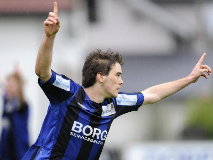 Nenzing Stürmer Sandro Decet schoss zwei Tore.