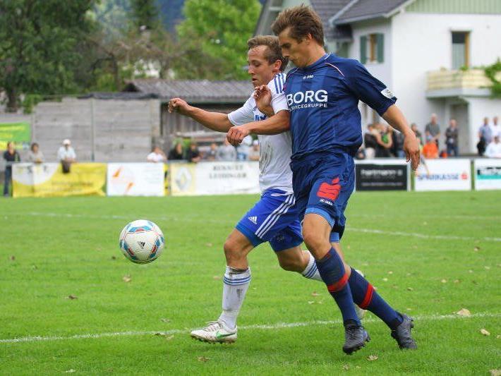 FC Nenzing gewinnt in Bludenz