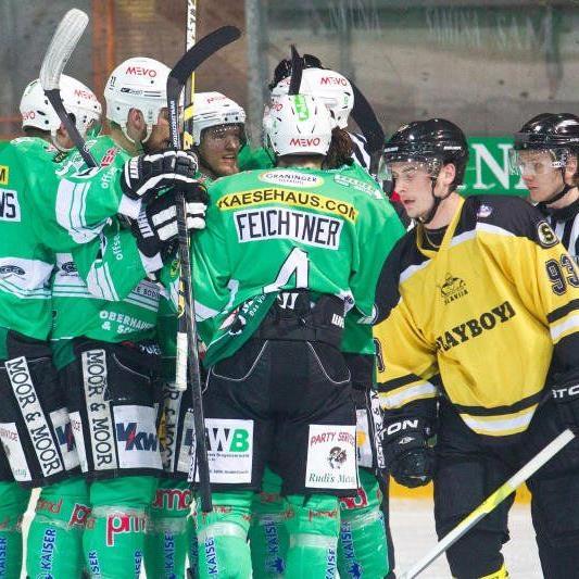 Der EHC Bregenzerwald will in Laibach den Meistertitel holen.