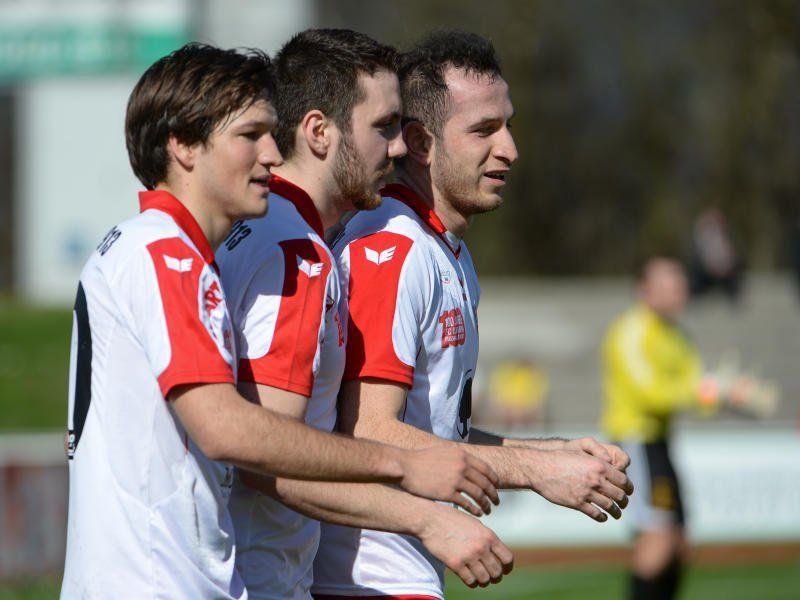 Der FC Dornbirn gewinnt gegen Wals/Grünau mit 3:1.