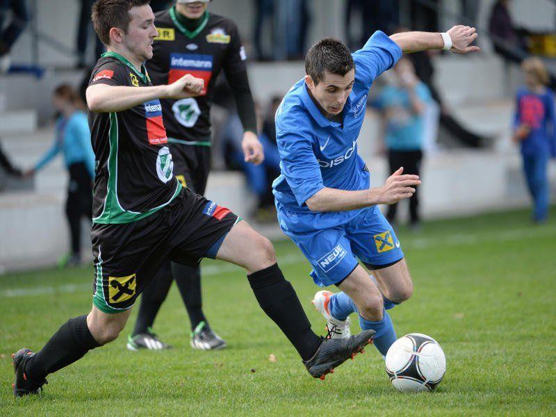 Lauterach gewinnt beim Leader Admira Dornbirn mit 2:0.
