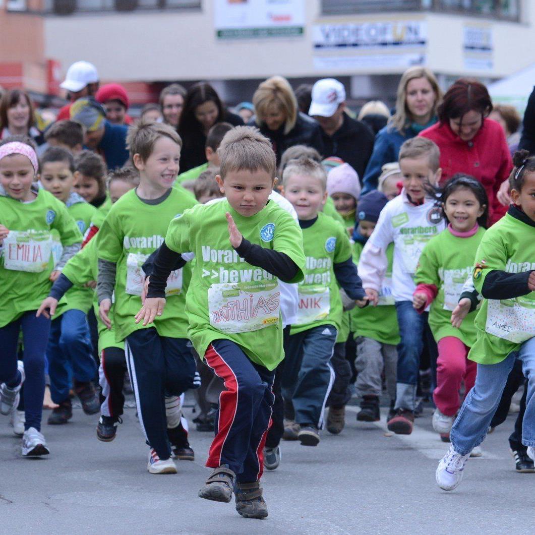 Am Sonntag werden tausende laufbegeisterte Sportler bei Bludenz läuft mit von der Partie sein.