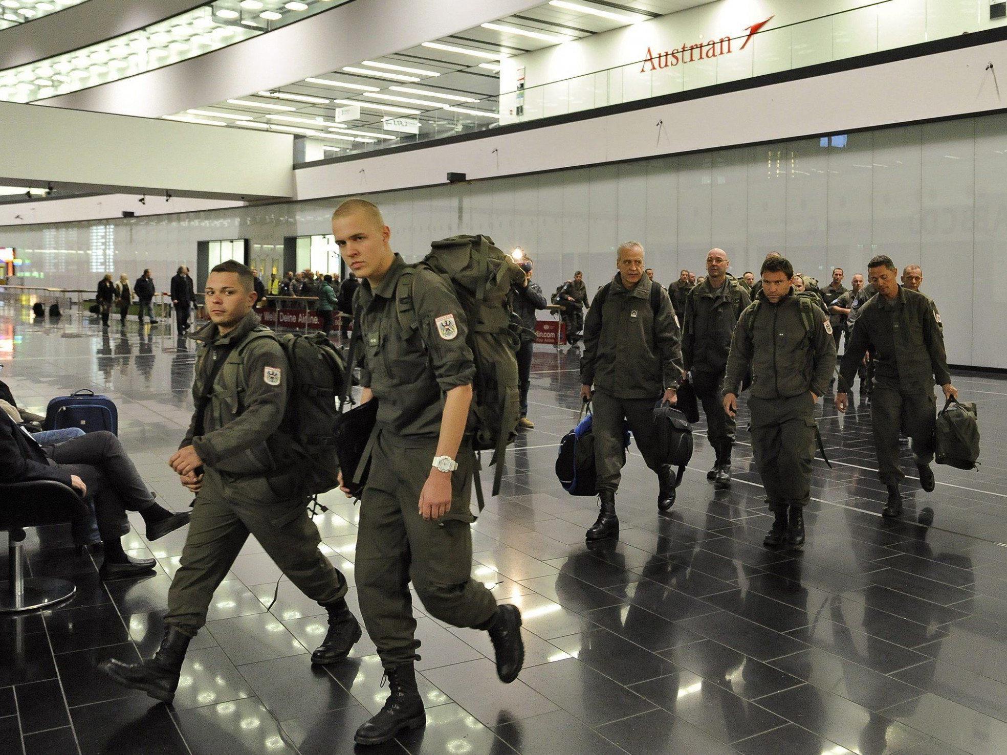 Seit 1974 stehen österreichische Blauhelme an der Grenze zwischen Syrien und Israel.