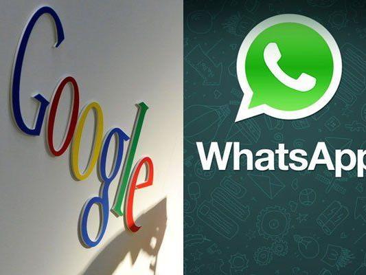 Gerüchte: Google plant WhatsApp-Übernahme.