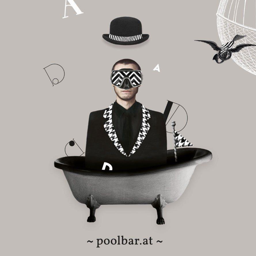 Rückkehr in die Kindheit und Kampf gegen das Konventionelle: Die poolbar-Grafik 2013.