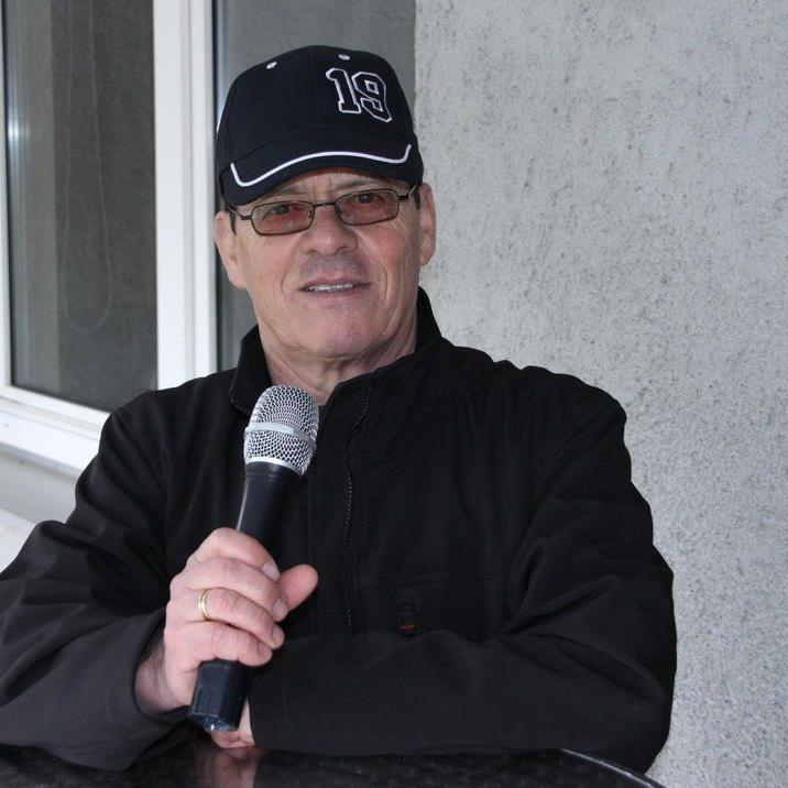 Fast 30 Jahre lang ist Walter Mitteregger schon Stadionsprecher in Hard.