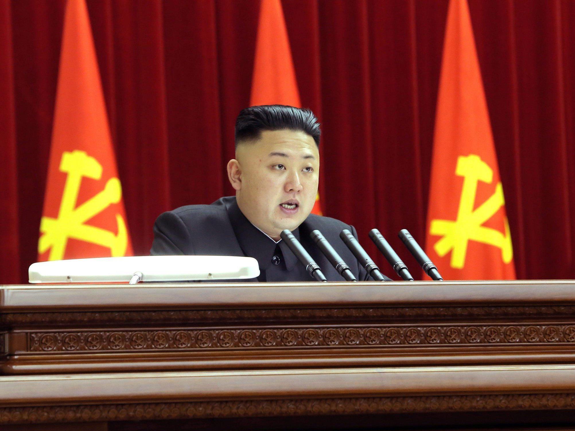 Mit einer aggressiven Kriegsrhetorik möchte Kim Jong-un seine Position im Staat stärken.