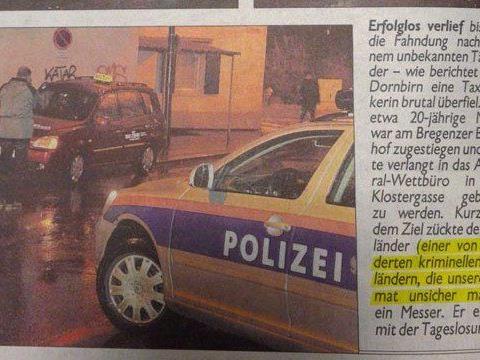 Diskriminierung: Vorarlberg-Ausgabe der Krone verletzte Ehrenkodex.