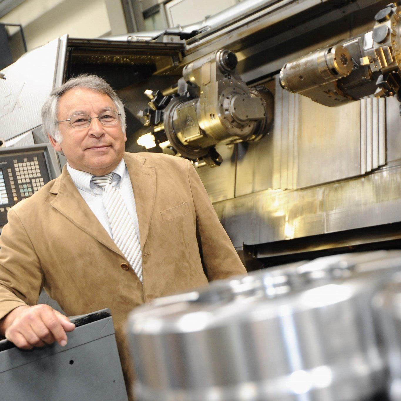 """Erich Lingenhöle ist ein engagierter Unternehmer und gilt als Pionier der """"Intertech""""."""