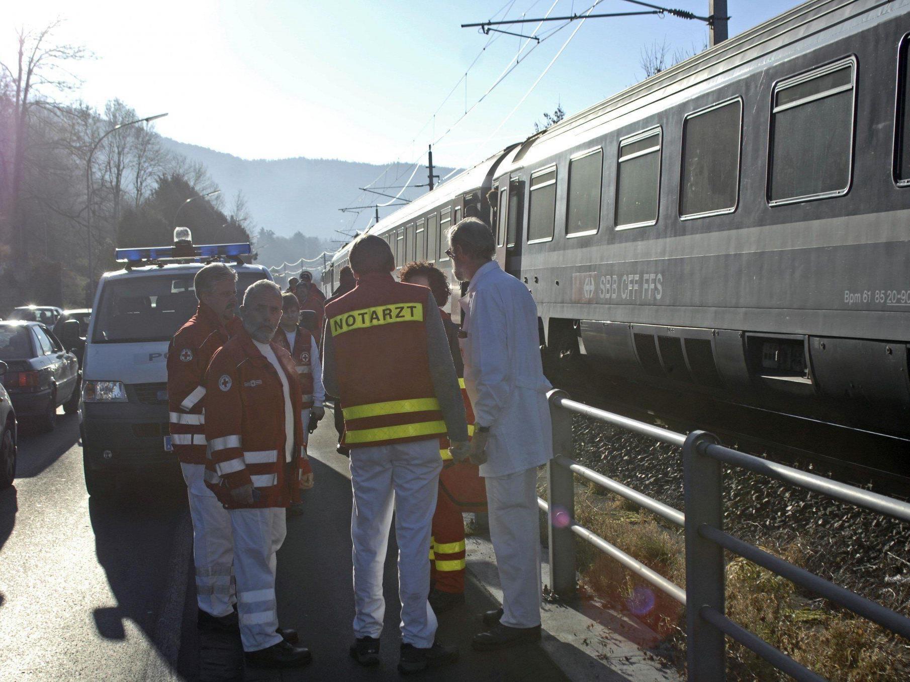 Drei Menschen kamen im Dezember 2006 bei einem tragischen Zugunglück in Lochau ums Leben.