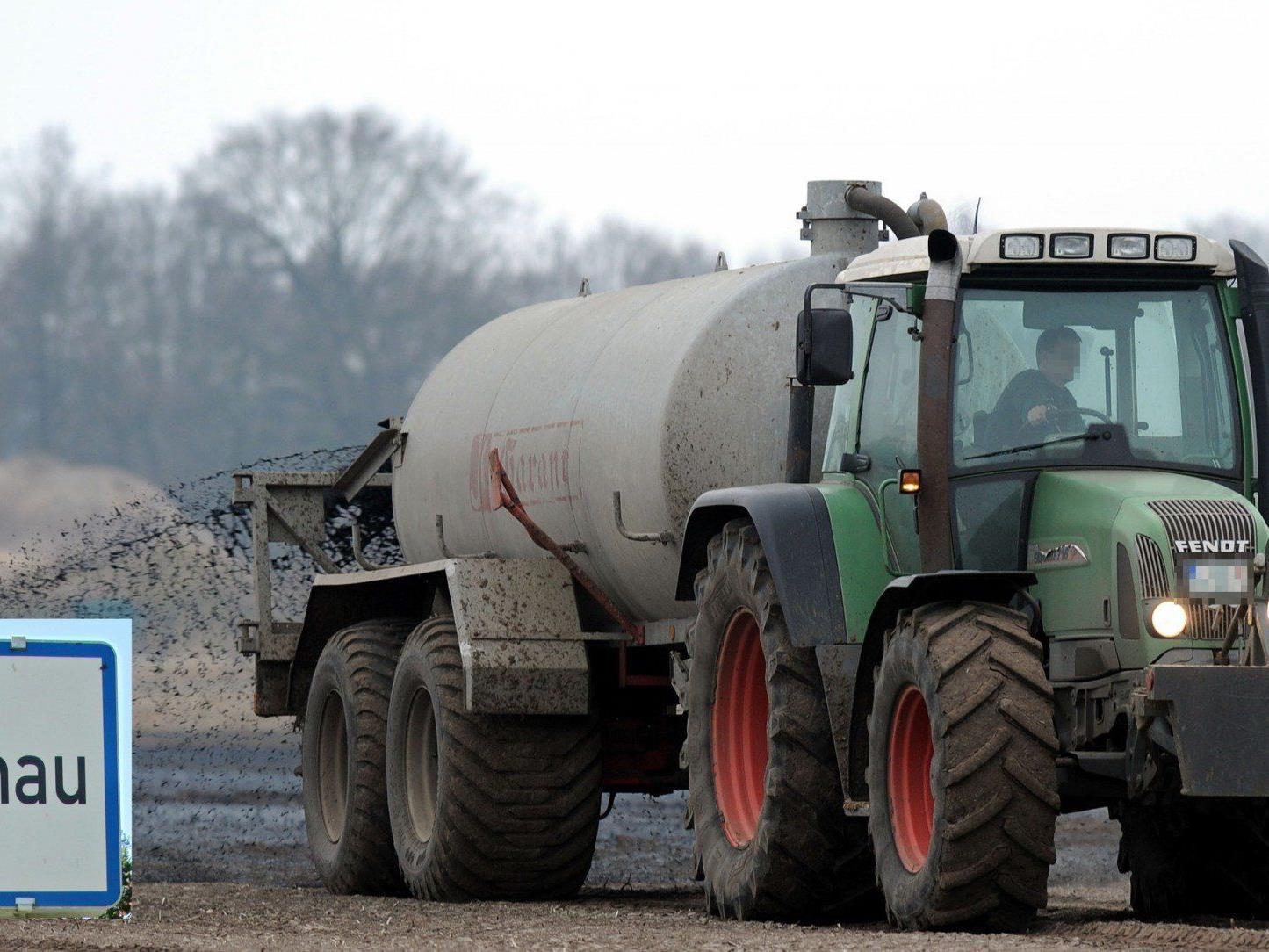 Die Lustenauer BF-Teilnehmer wünschen sich mehr Rücksicht angesichts der ständigen Lärmbelästigung und Raserei mancher Traktorfahrer.