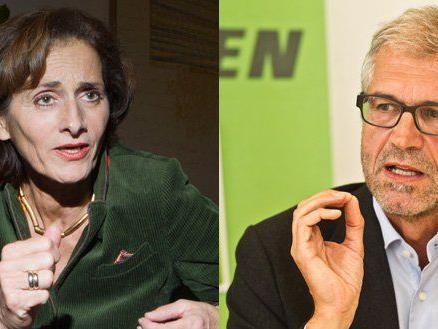 LR Bernadette Mennel setzt sich gegen die Kritik von Harald Walser zur Wehr.