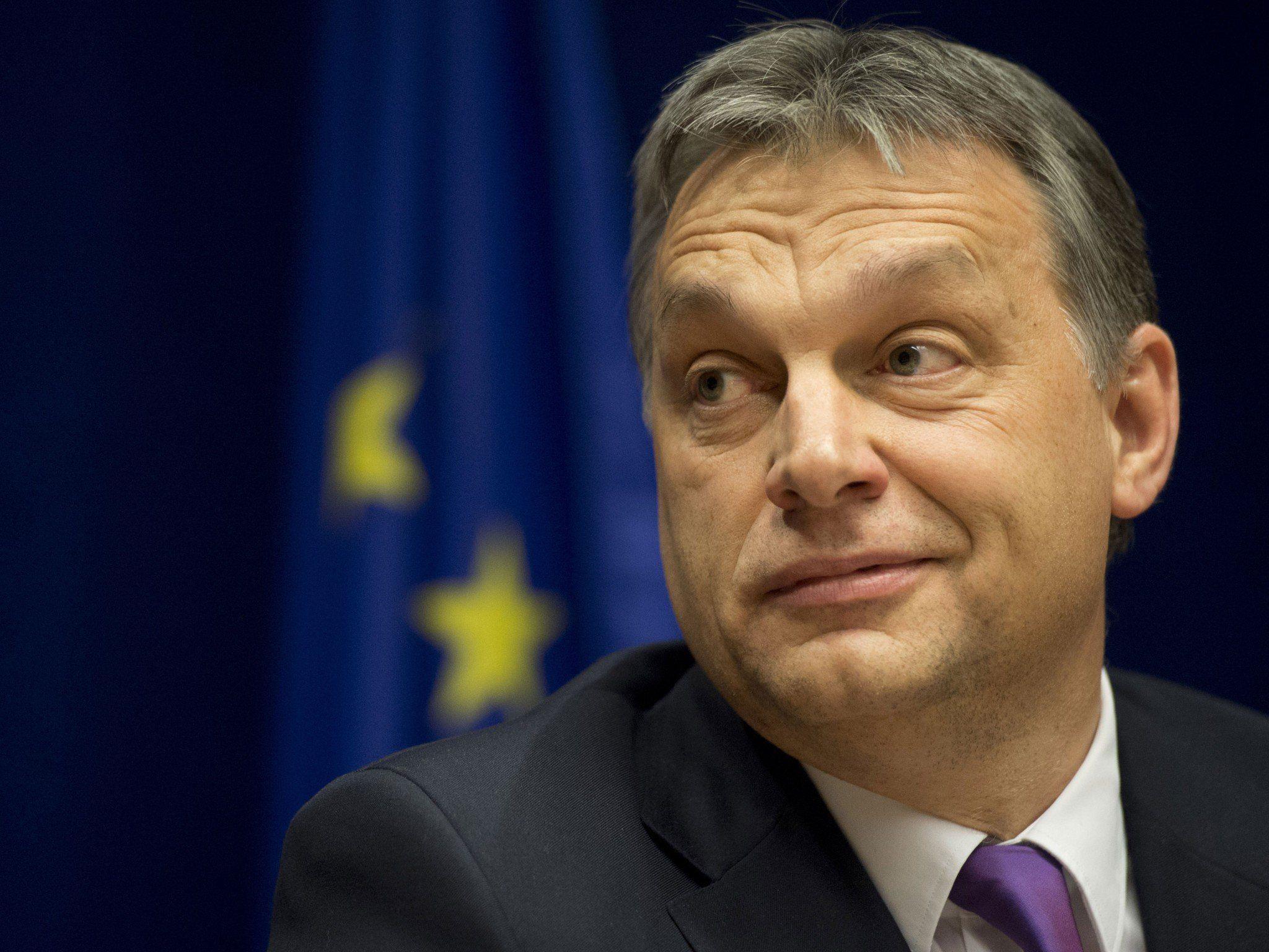 Ungarischer Premier Orban kündigte Einlenken an.