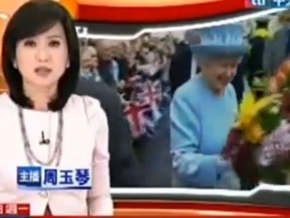 Peinliche Panne: TV-Sender zeigte Queen statt Thatcher.