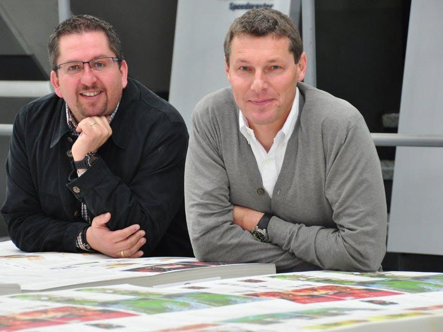 Verkaufsleiter Alexander Richl und VVA-GF Karl-Heinz Milz.