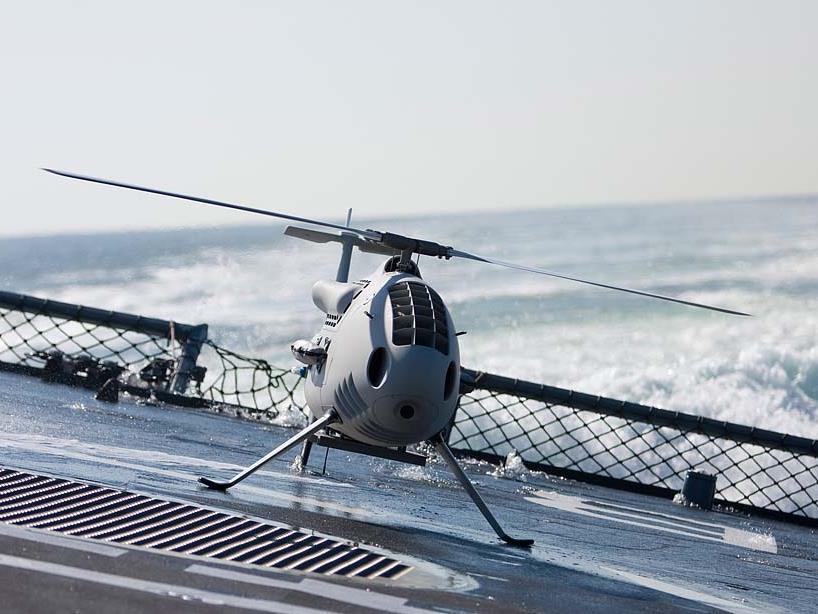 Camcopter s-100: Wirtschaftsministerium gab trotz Einwänden des Außenamts grünes Licht für Export.