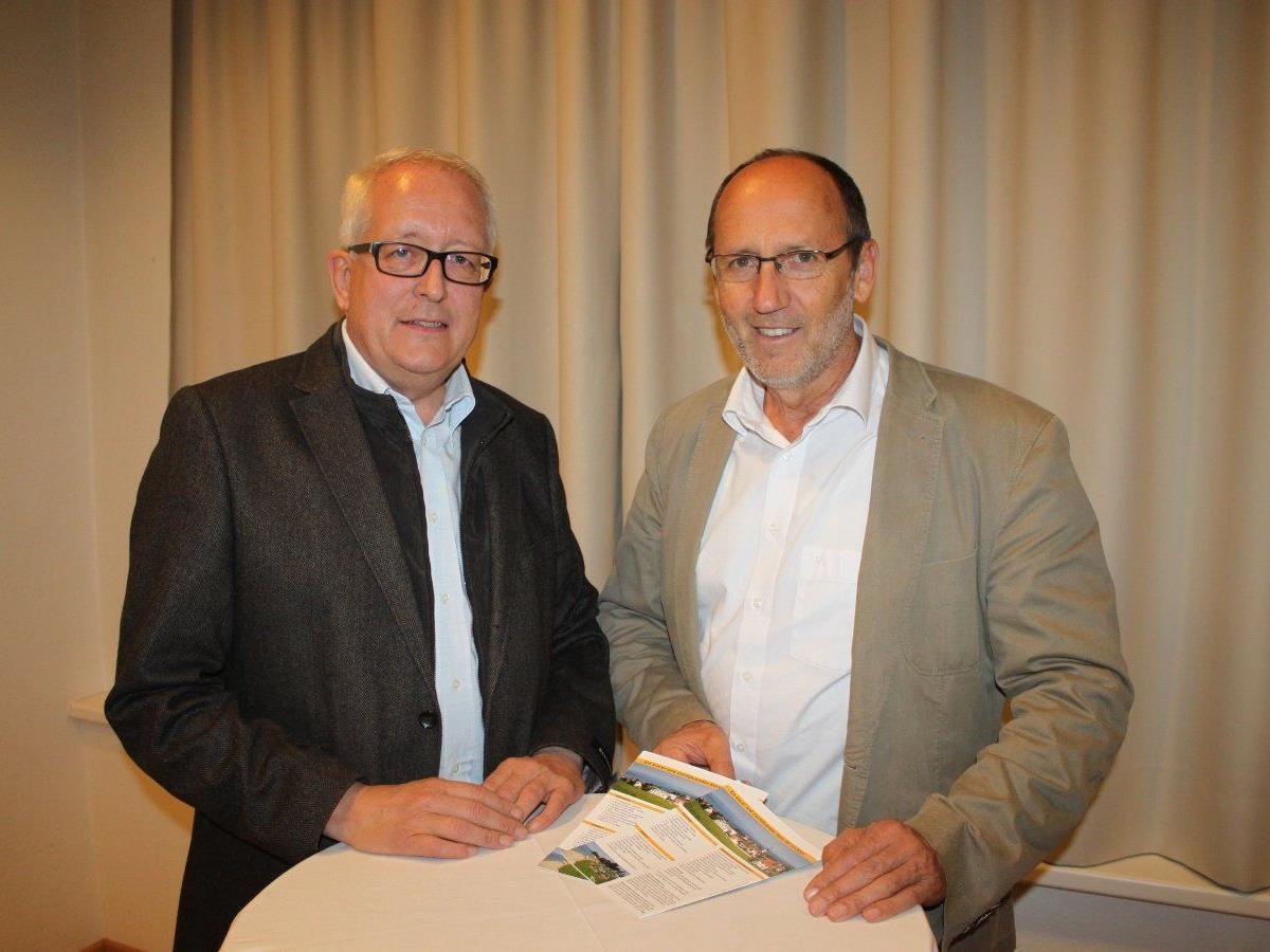 Wechsel an der Spitze der Gemeinde Lochau: Michael Simma folgt auf Xaver Sinz.