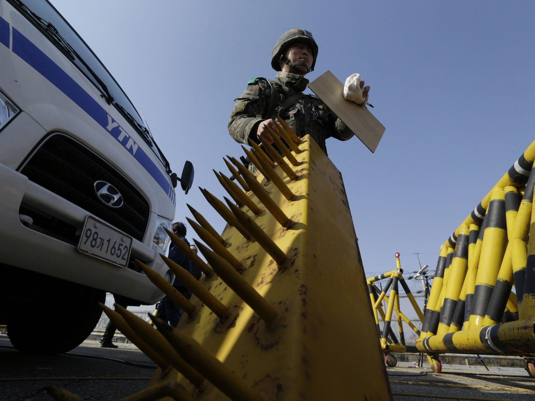 Seoul vermutet noch diese Woche Raketenstart