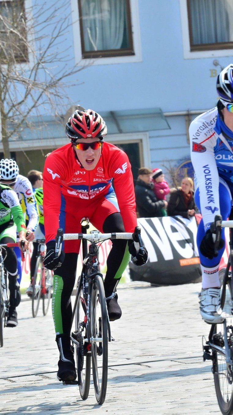 Zwei Stürze und zwei Defekte: Tobias Wauch musste das Rennen beenden.