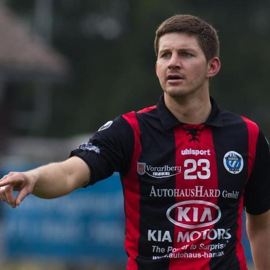 Christoph Fleisch will mit dem FC Hard den Ligaerhalt noch fixieren und den Cupsieg holen.