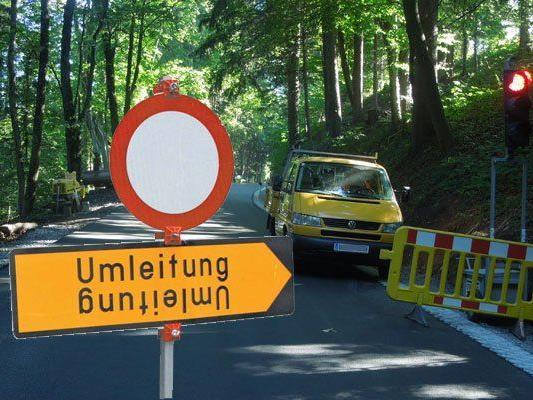 Die L 49 zwischen Dornbirn und Alberschwende wird für drei Monate gesperrt.
