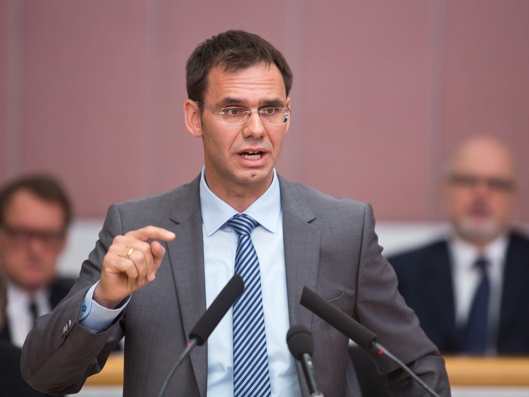 Vorarlberger Landeshauptmann möchte weitere Vorgangsweise bei der Finanzreferentenkonferenz besprechen.