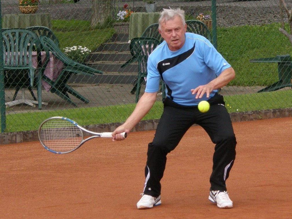 Ivan Lapkalo vom TC Lochau Herren 60+