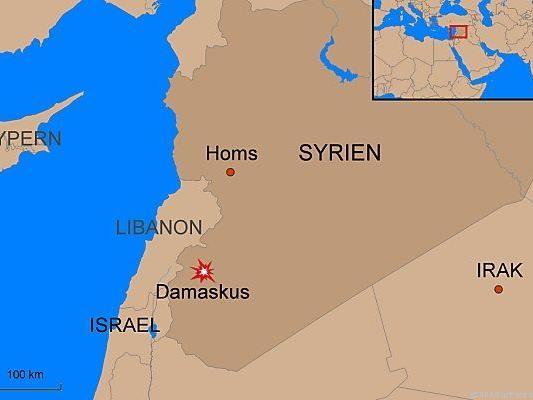 Medien berichteten von Explosionen in Damaskus