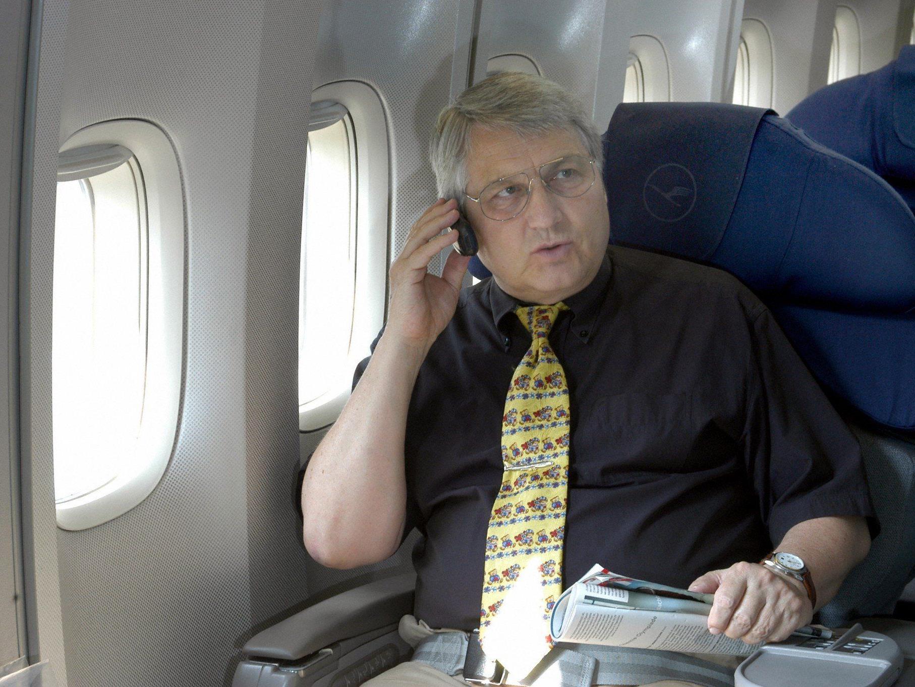 Nur rund 60 Prozent der Passagiere schalten ihre Geräte aus.
