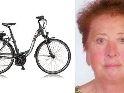 Die vermisste Frau aus dem Bezirk Baden soll mit einem solchen Elektrofahrrad unterwegs sein