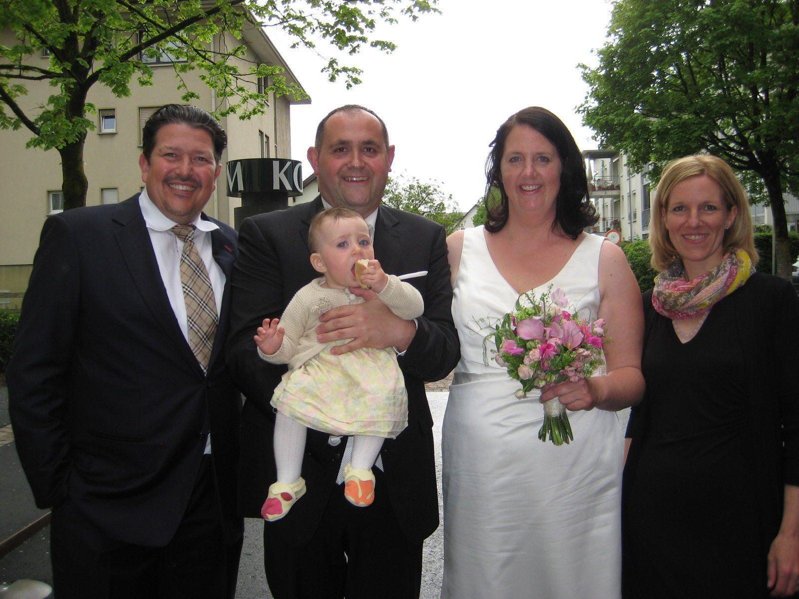 Tanja Ender und Christian Böck haben geheiratet.