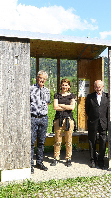 Internationale Architekten gestalten neue Bushaltestellen für Krumbach.